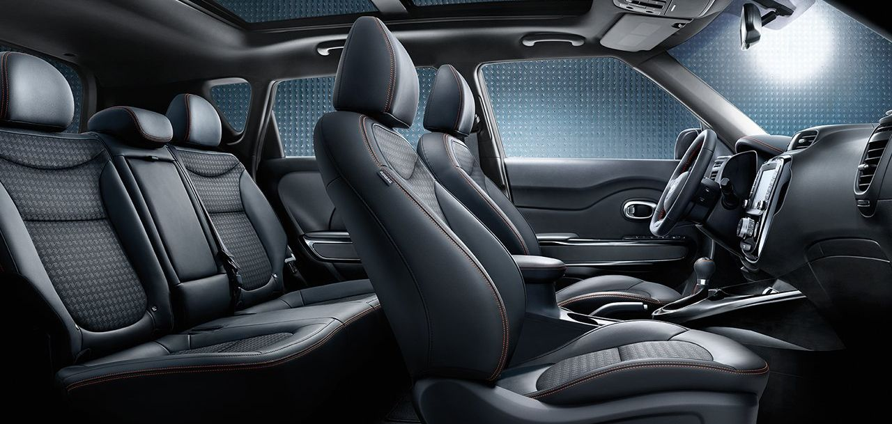 The Spacious Cabin of the Kia Soul