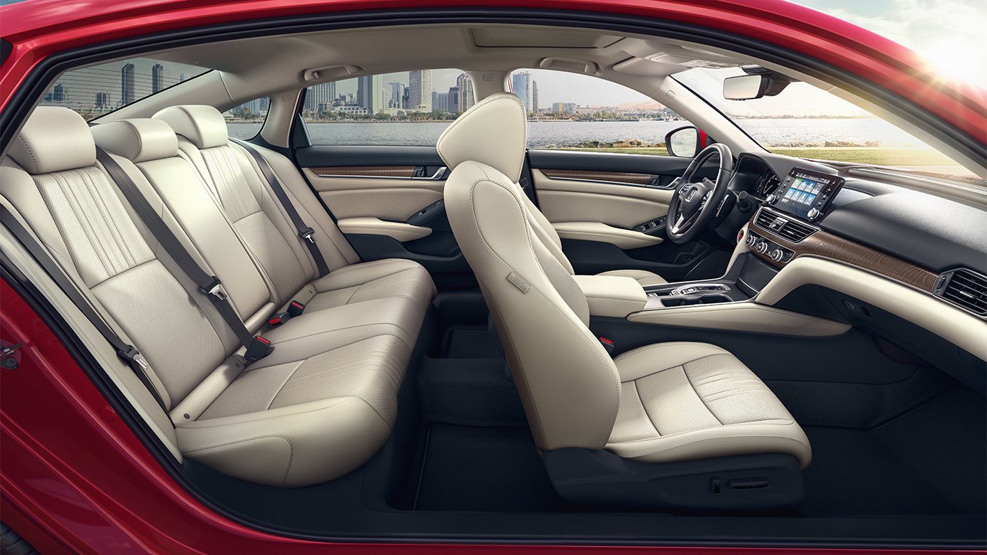 Spacious Cabin of the 2019 Accord