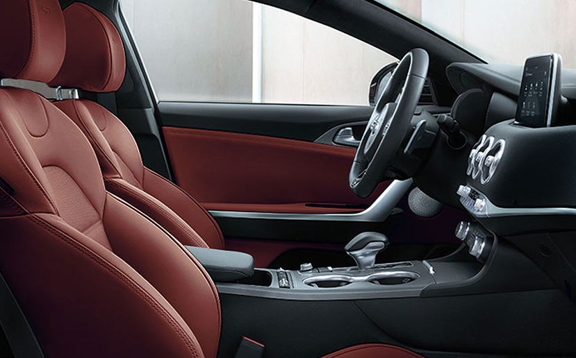 2019 Kia Stinger's Sporty Seating
