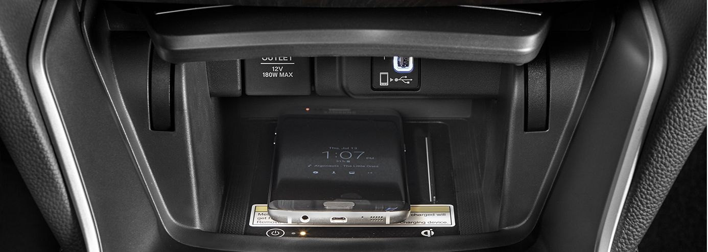 Wireless Charging in the new Honda Accord