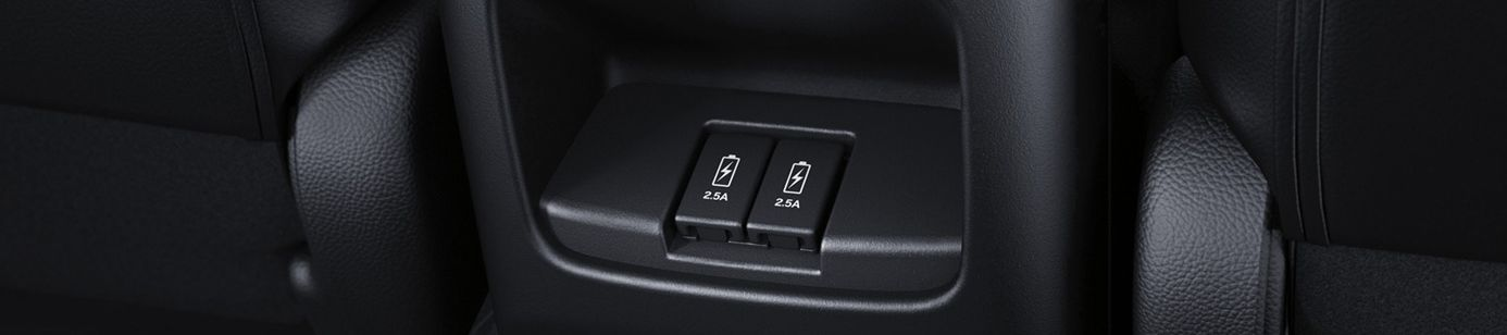 Second Row Power Options in the 2019 CR-V