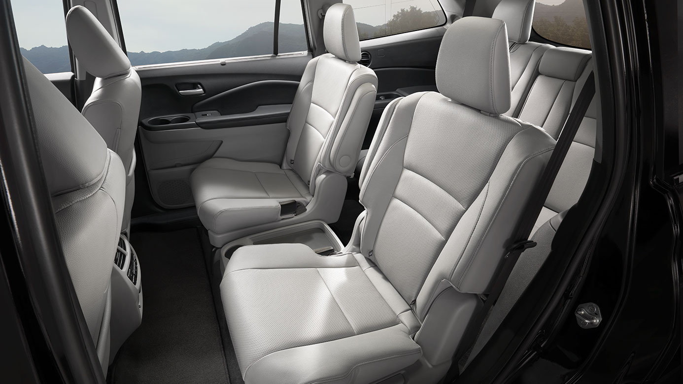 Luxurious Seating Options in the 2019 Pilot