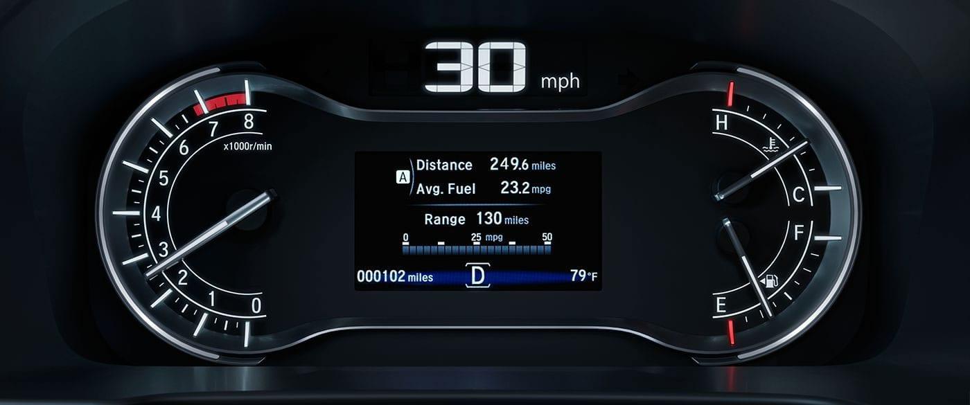 2019 Honda Ridgeline's Multi-Information Display