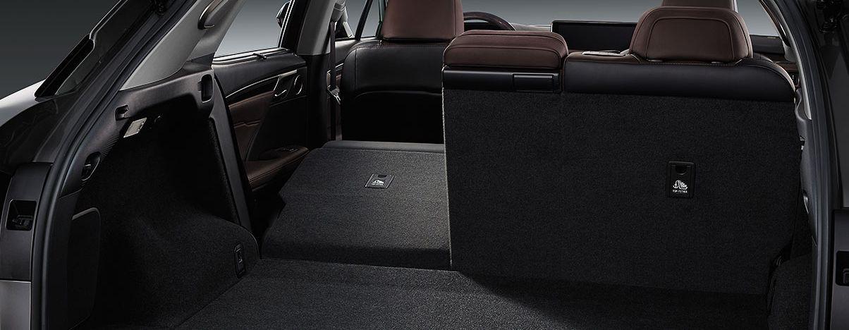 Versatile Storage in the Lexus RX 350