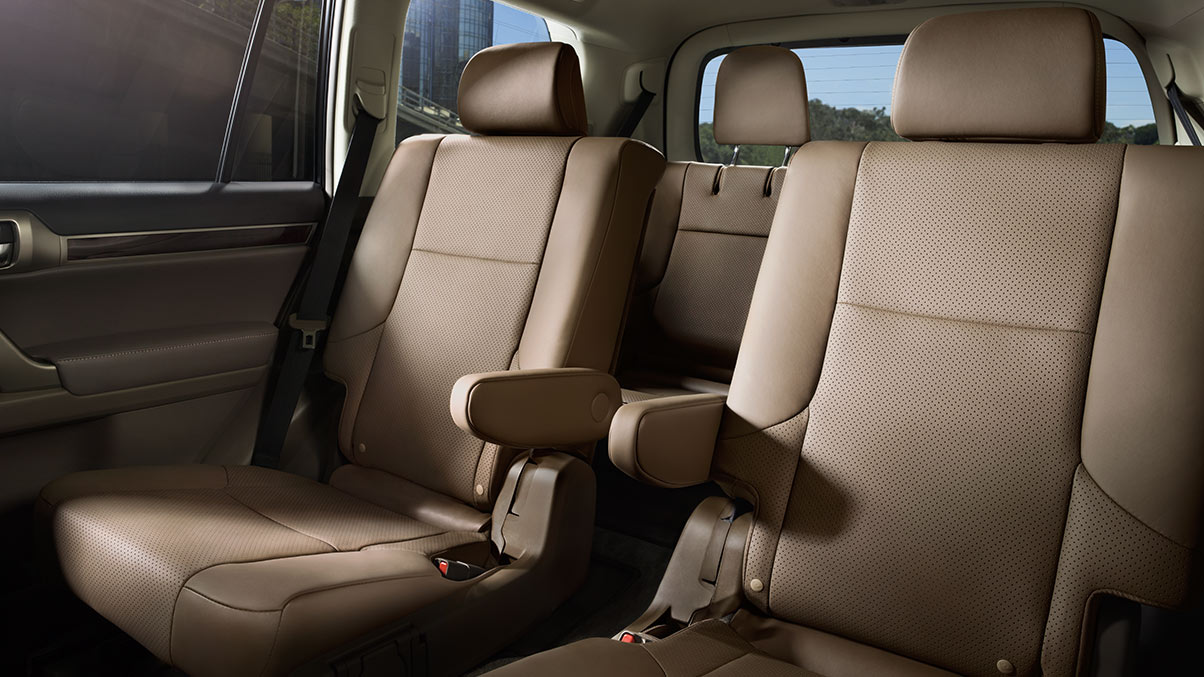 Captain's Chairs in the Lexus GX 460