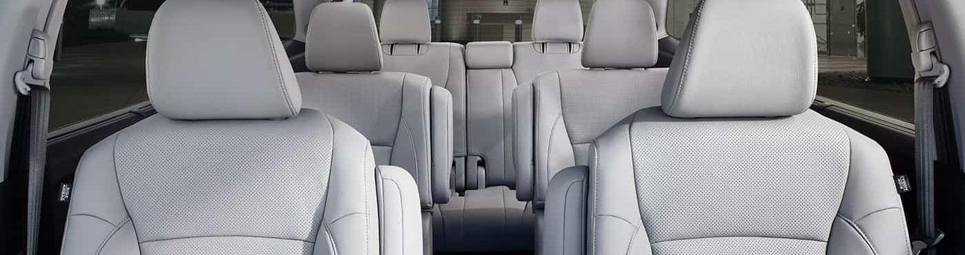 2019 Honda Pilot's Three-Row Seating
