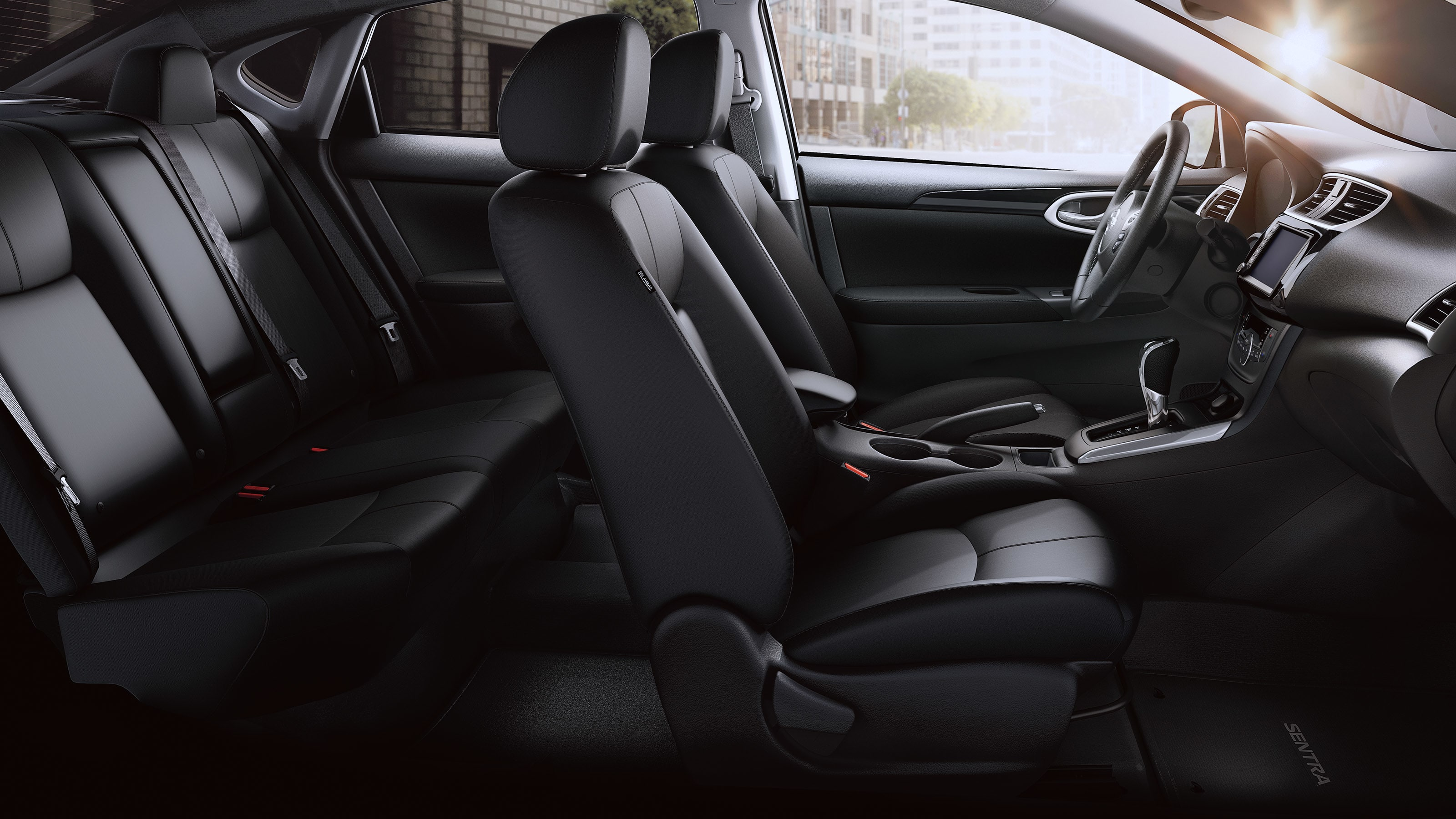 Plenty of Space in the 2019 Nissan Sentra