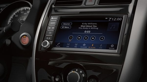 Touchscreen Display in the 2019 Versa