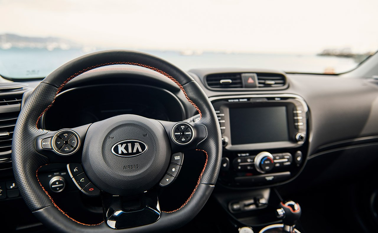2019 Kia Soul Dashboard