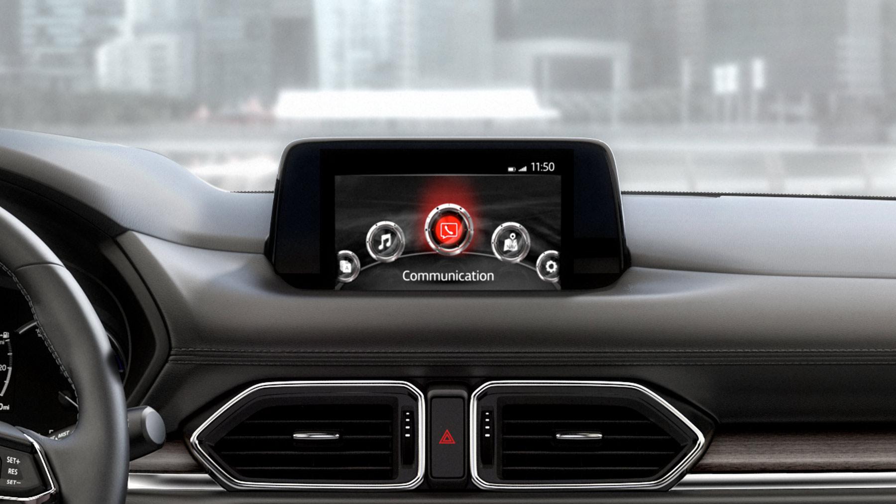 Touchscreen in the Mazda CX-5