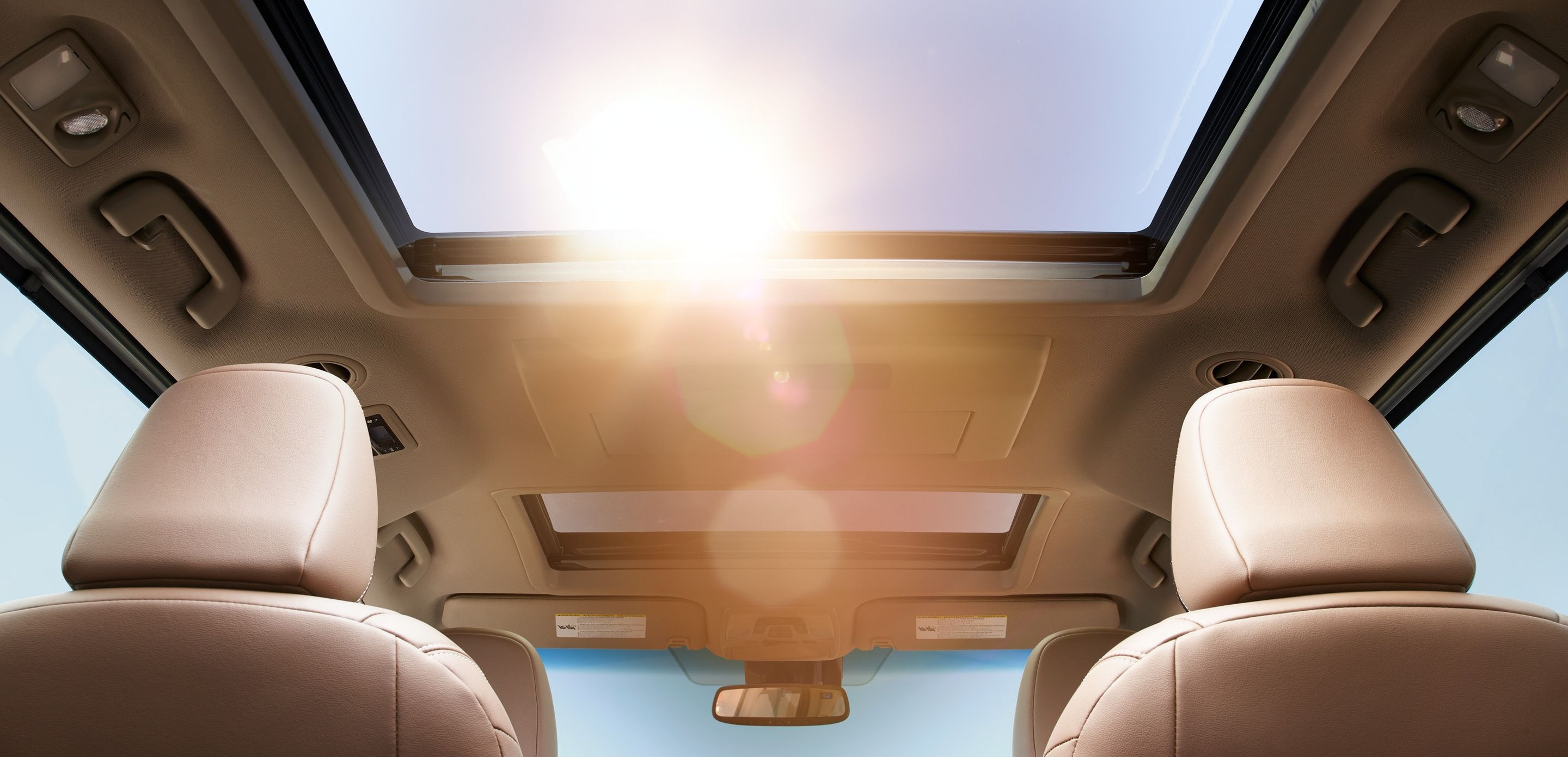 The Sienna's Huge Sunroof!