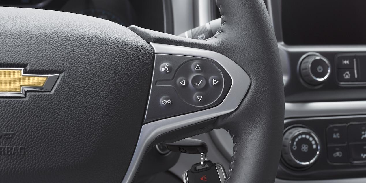 Steering Wheel of the Chevrolet Colorado
