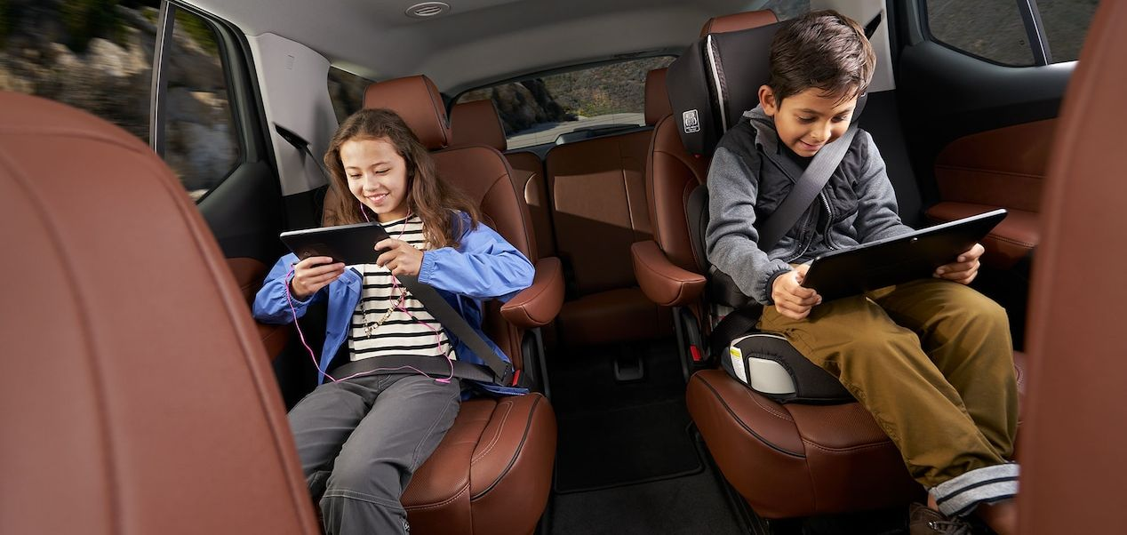 Entertainment in the Chevrolet Traverse