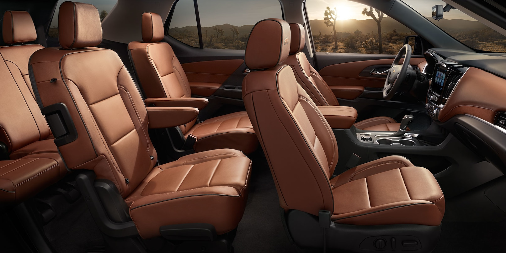 Safety Surrounds You in the 2019 Chevy Traverse