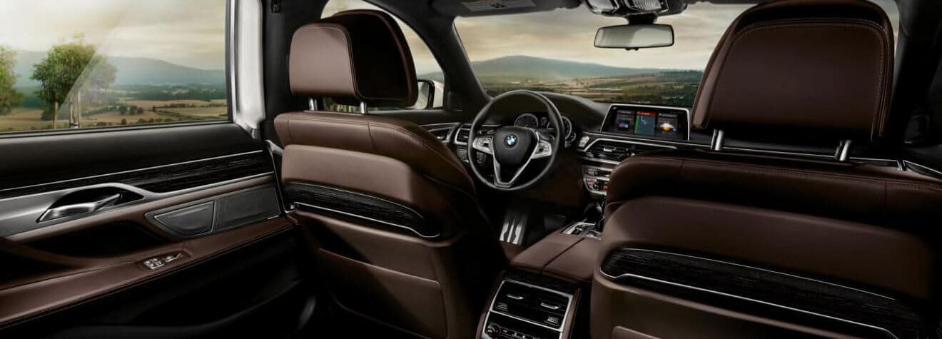 Luxurious Cabin of the 2019 7 Series