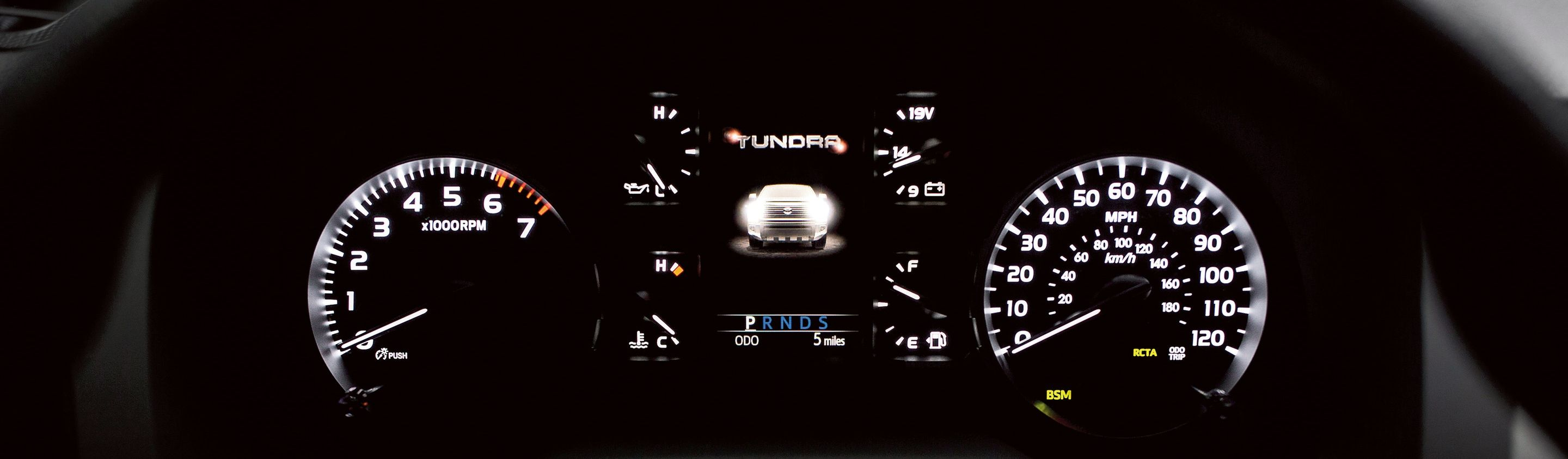2019 Toyota Tundra Instrument Cluster