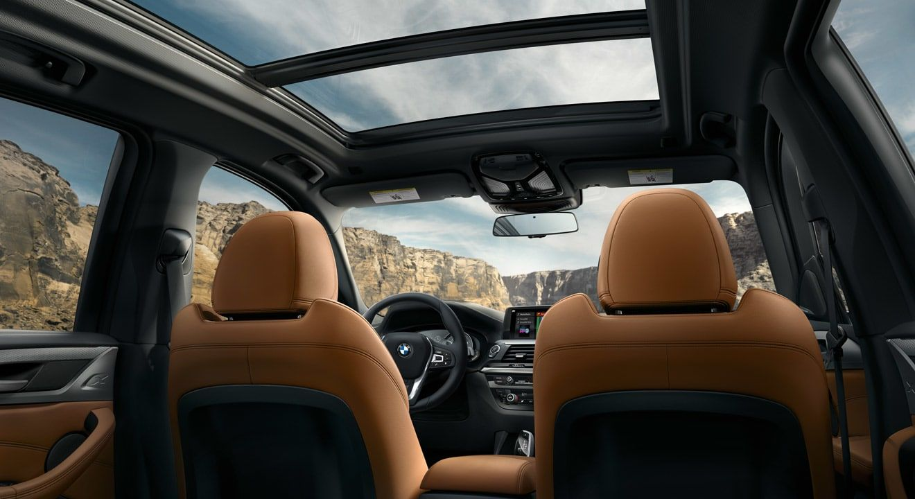 Spacious Cabin of the BMW X3