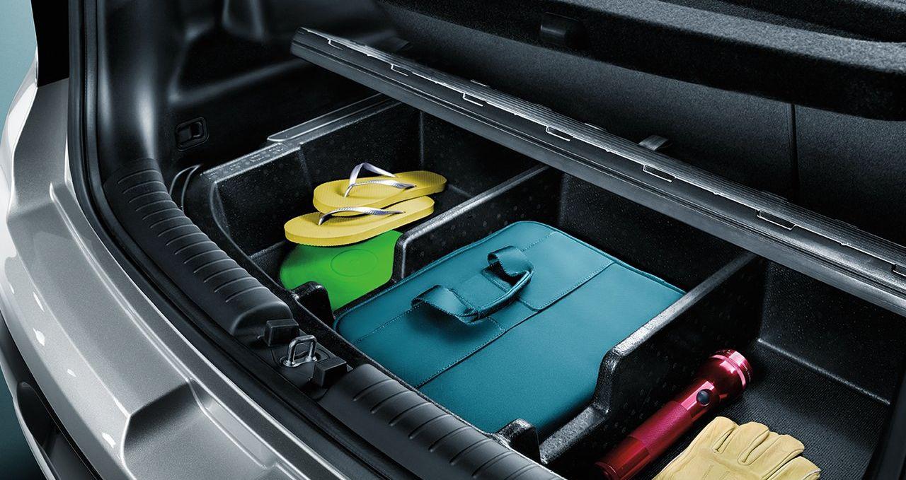 Storage Compartment of the 2019 Kia Soul