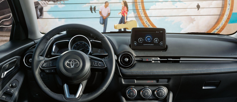 2019 Toyota Yaris Dashboard