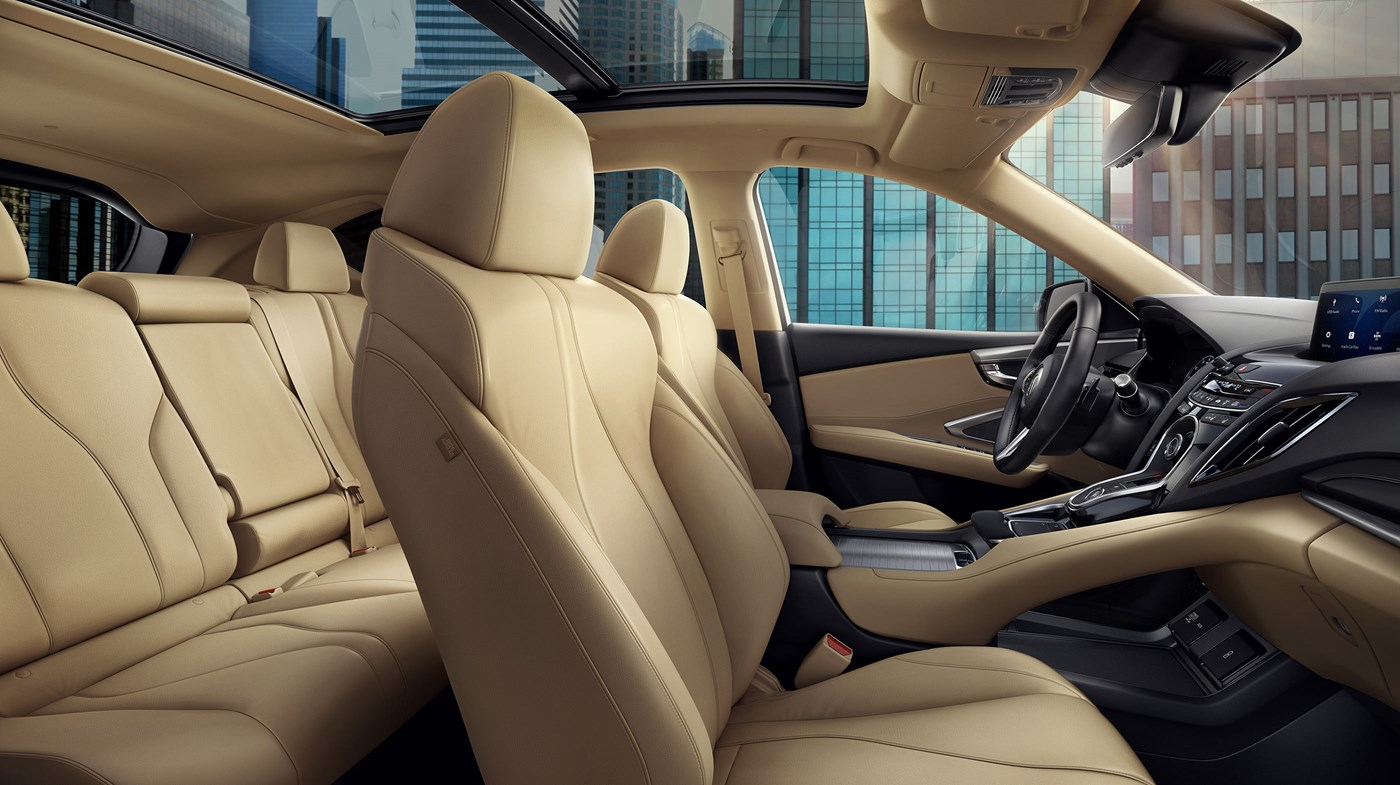 Interior of the 2019 Acura RDX