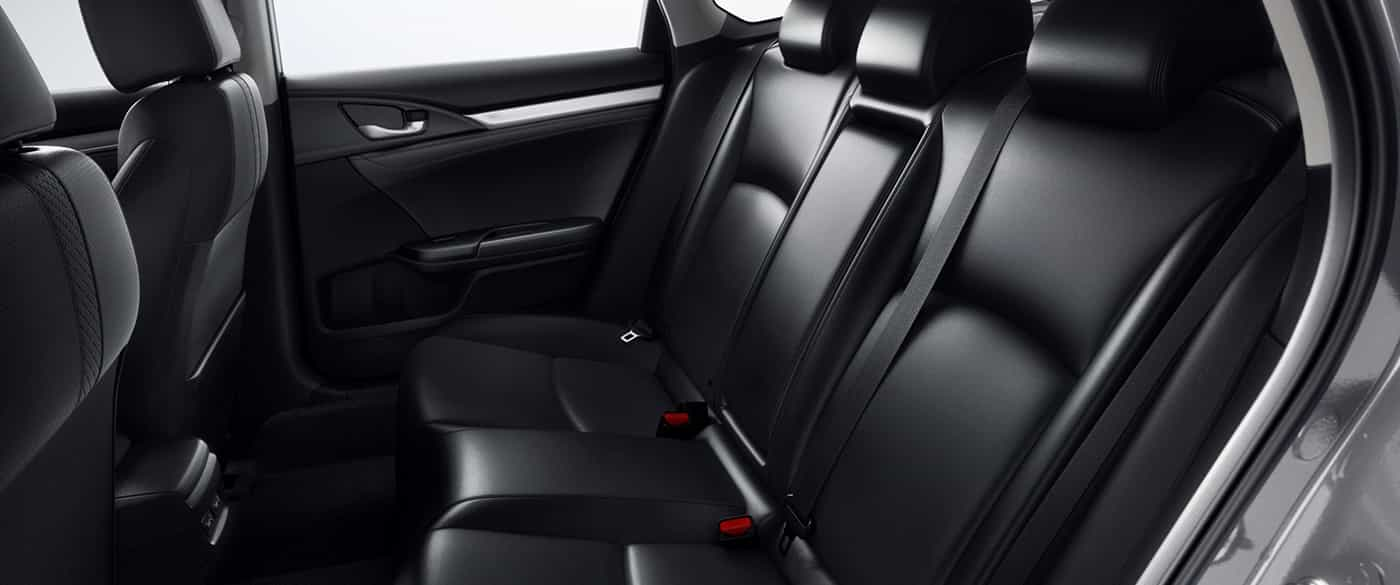 Leather Interior of the Honda Civic