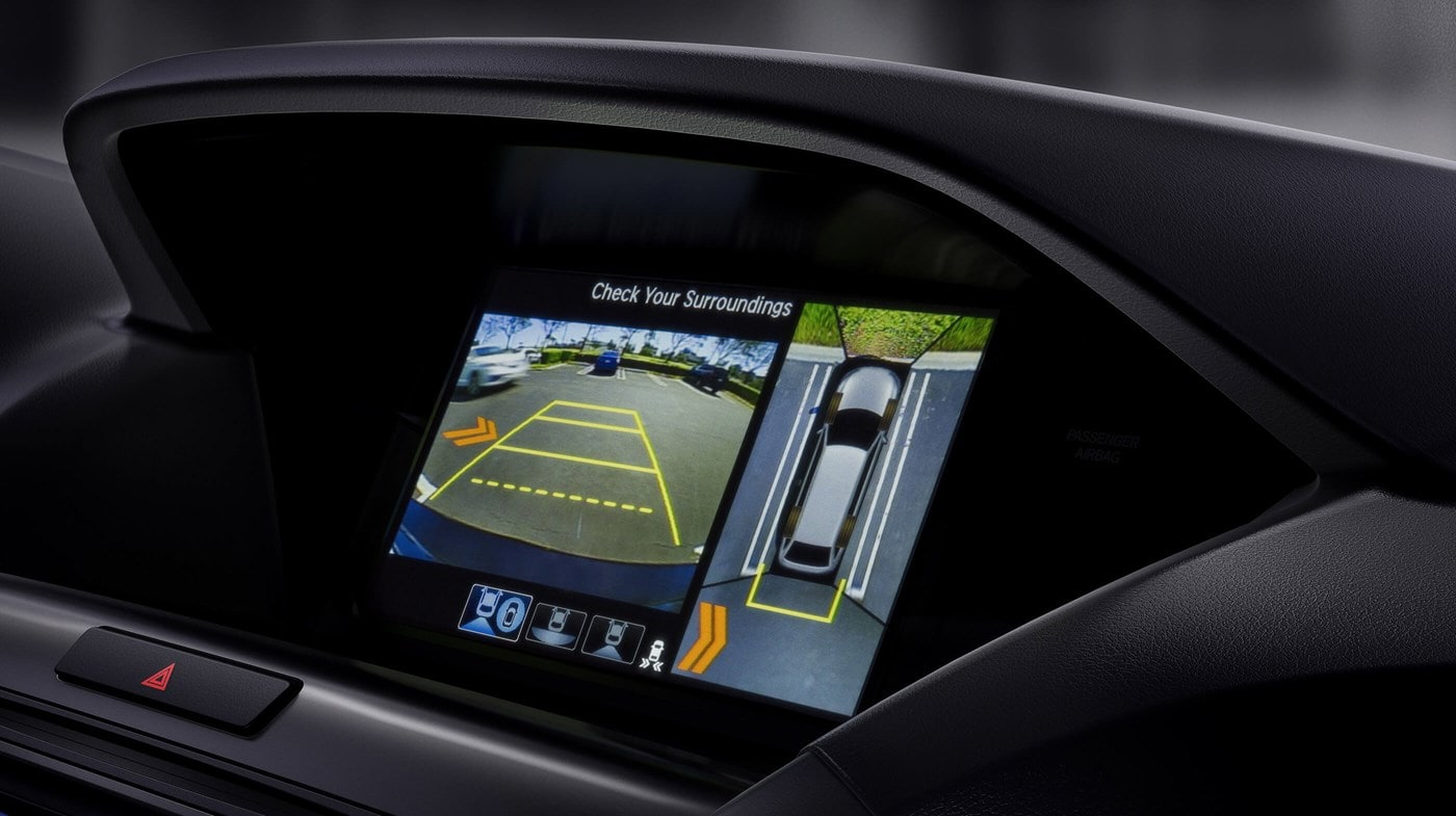 Touchscreen Display in the 2019 MDX