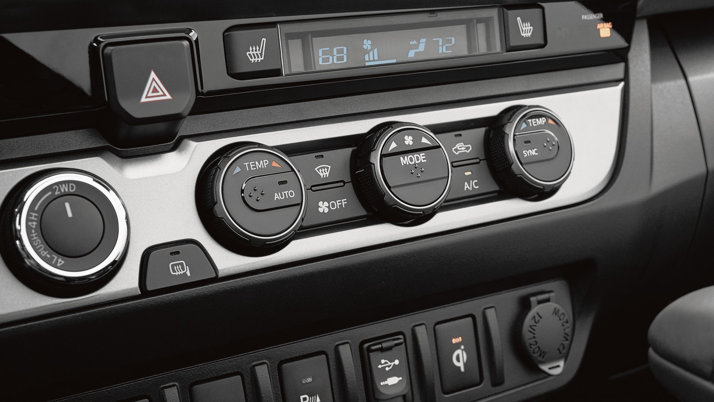 Keep Everyone at the Right Temperature in the 2019 Tacoma!