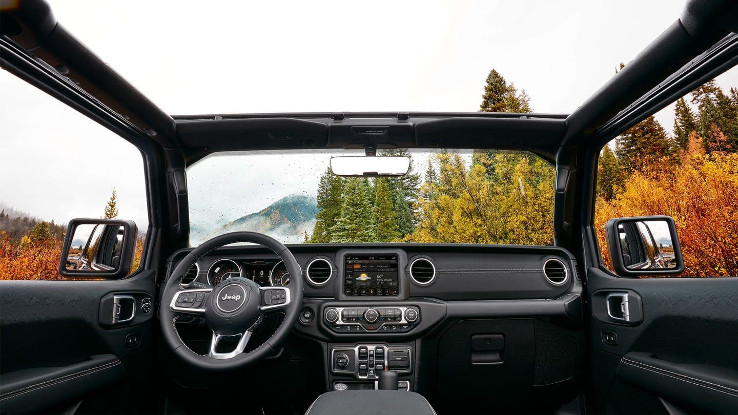 2019 Jeep Wrangler Opened Top