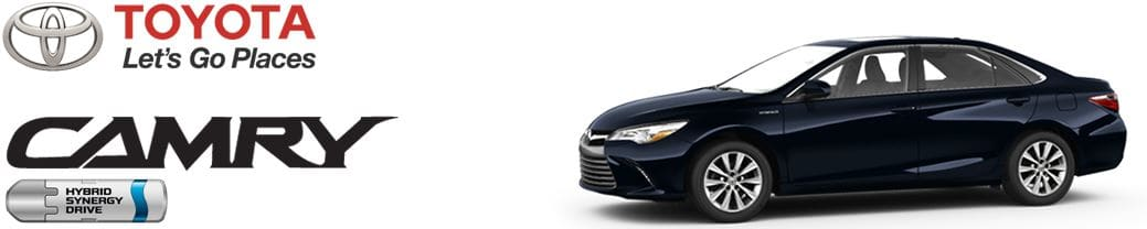toyota camry major service intervals