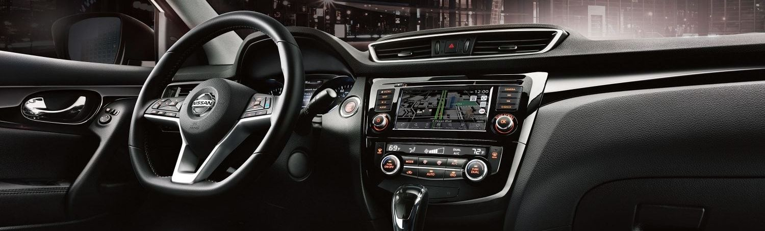 Advanced Cabin of the 2019 Rogue Sport