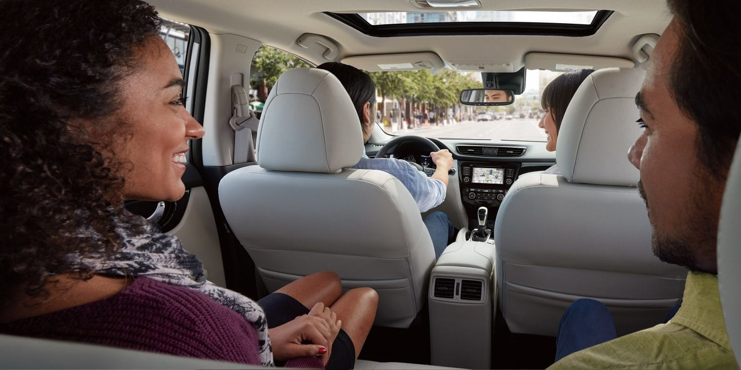 Spacious Interior of the Nissan Rogue Sport