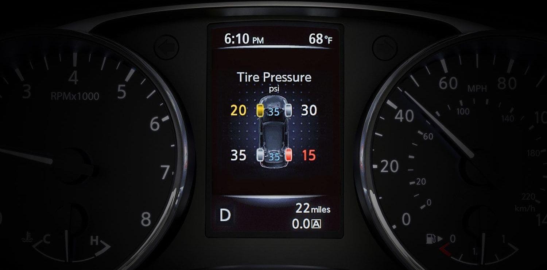 Nissan Rogue Sport Tire Fire Alert