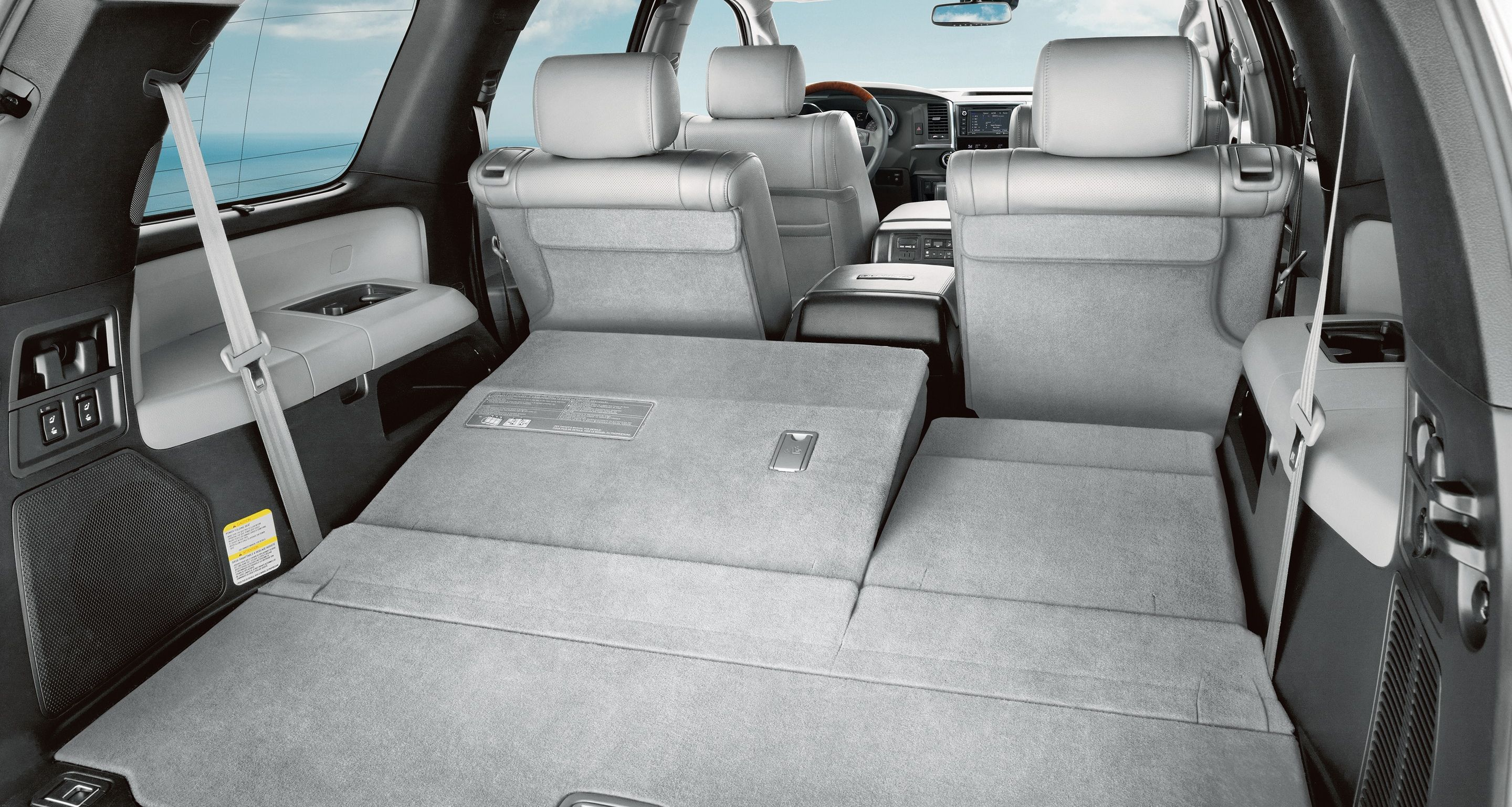 Storage Capacity of the 2019 Sienna