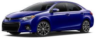 Rent a Toyota Corolla