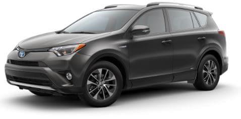 Rent a Toyota Rav4 Hybrid