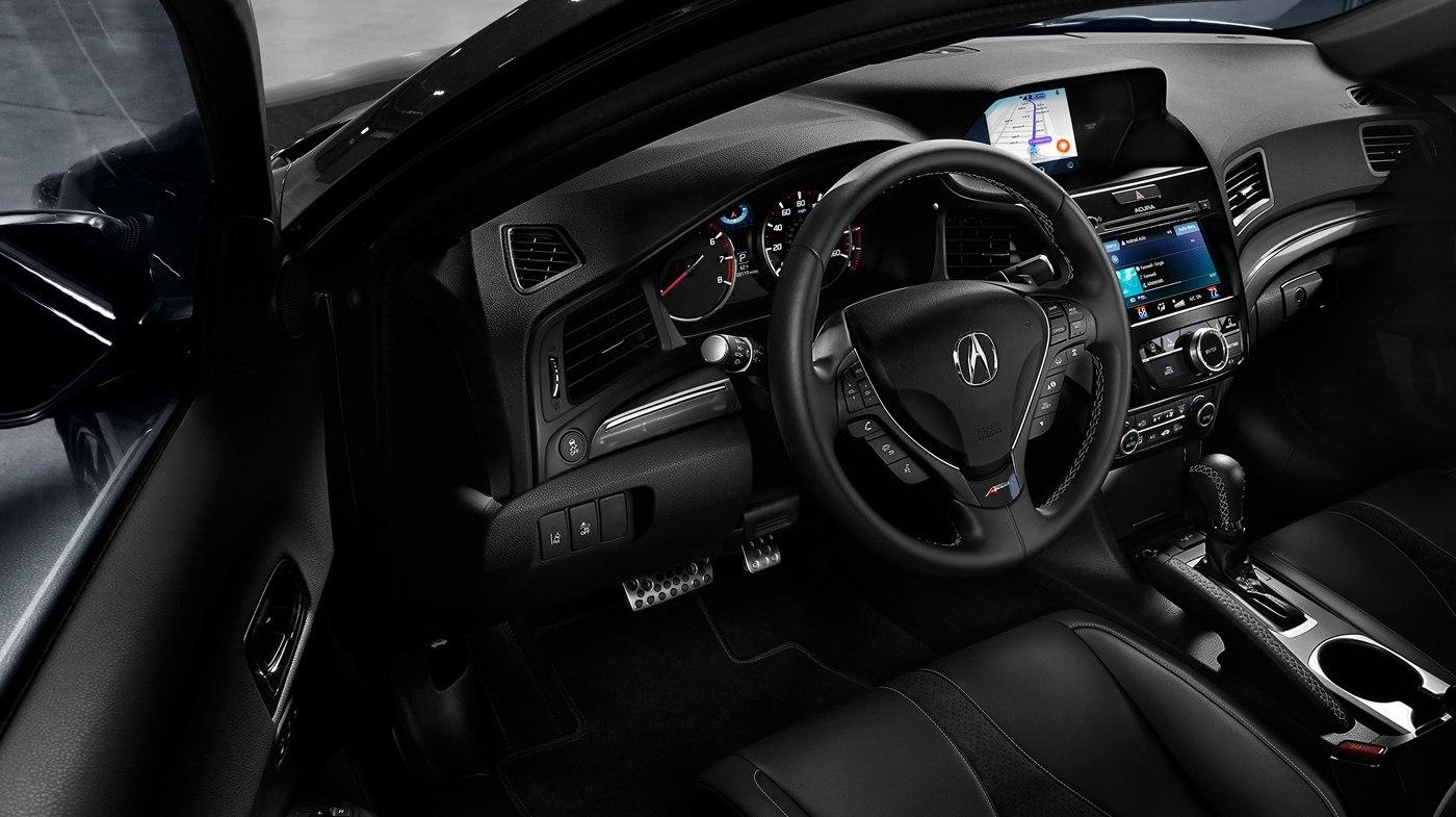 Upscale Interior of the Acura ILX