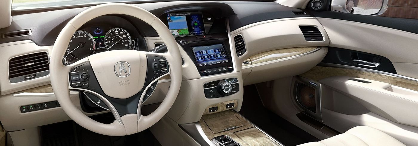 Interior of the 2019 RLX