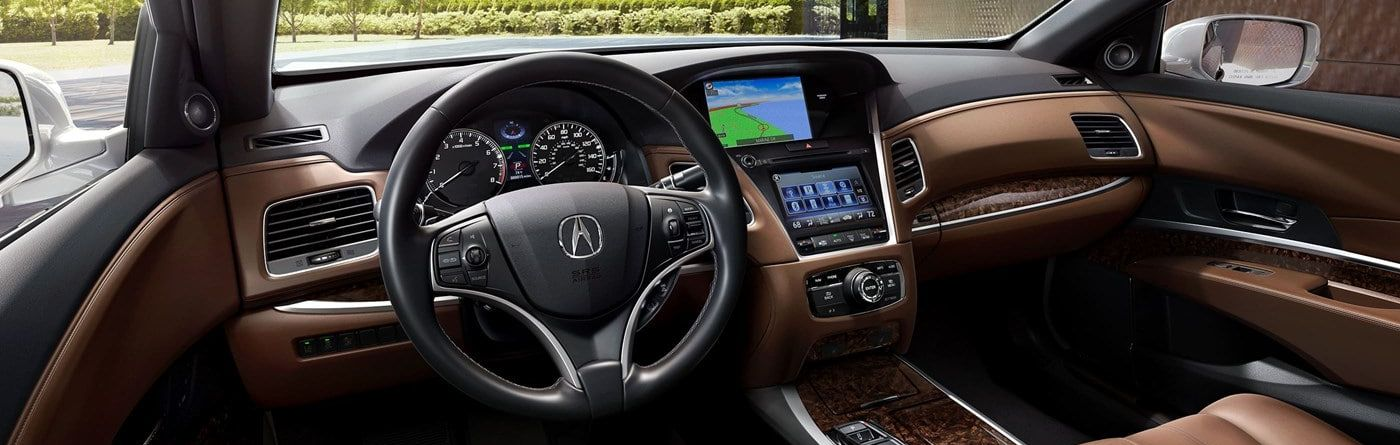Cabin of the Acura RLX