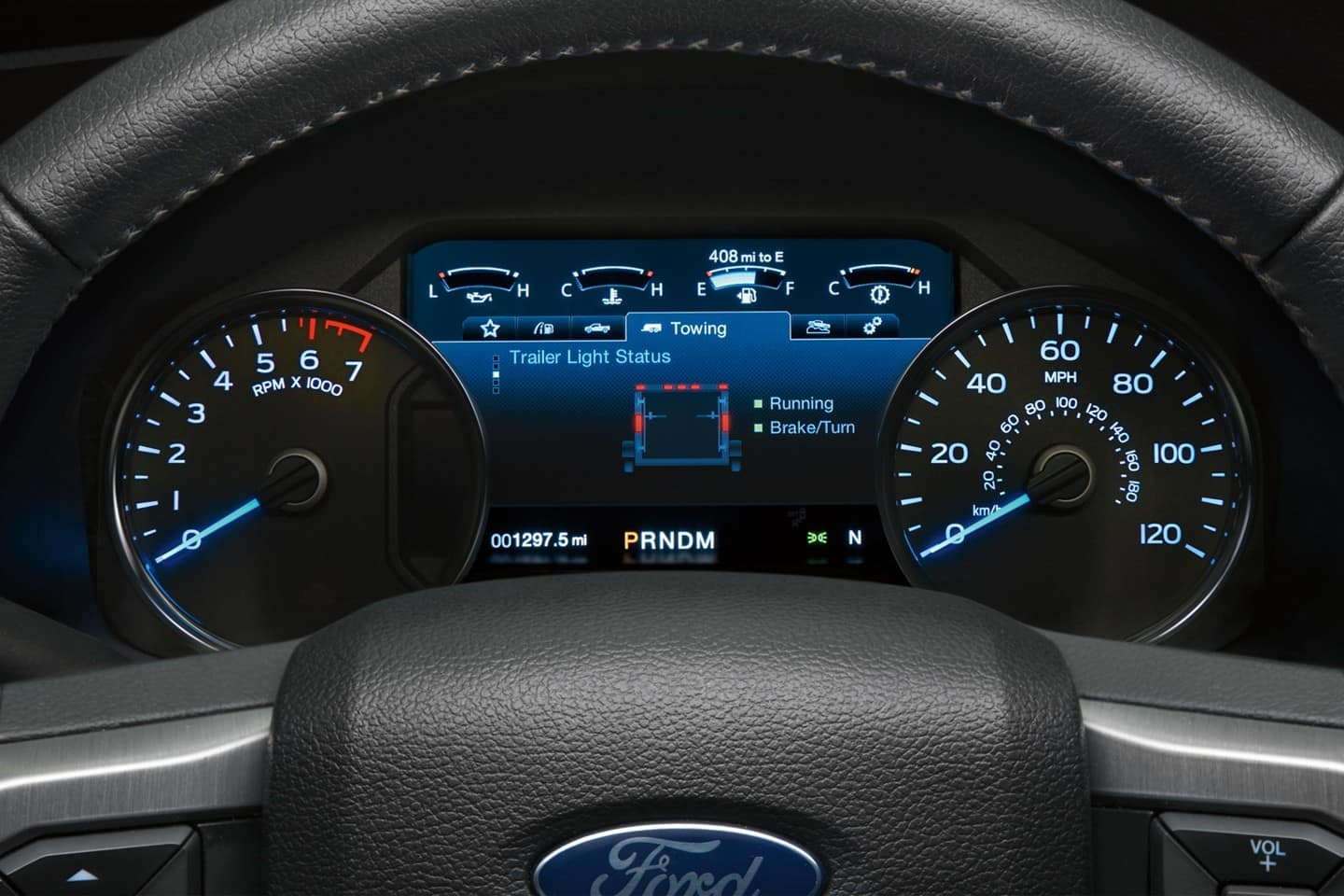 2019 Ford F-150 Infotainment Cluster