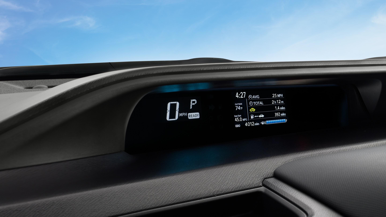 2019 Prius c Multi Information Display