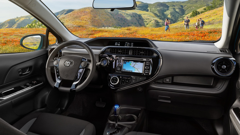 2019 Toyota Prius c Dashboard
