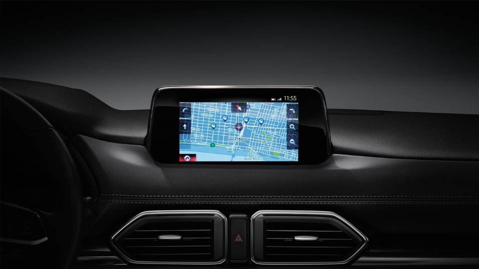 Touchscreen Display in the Mazda CX-5