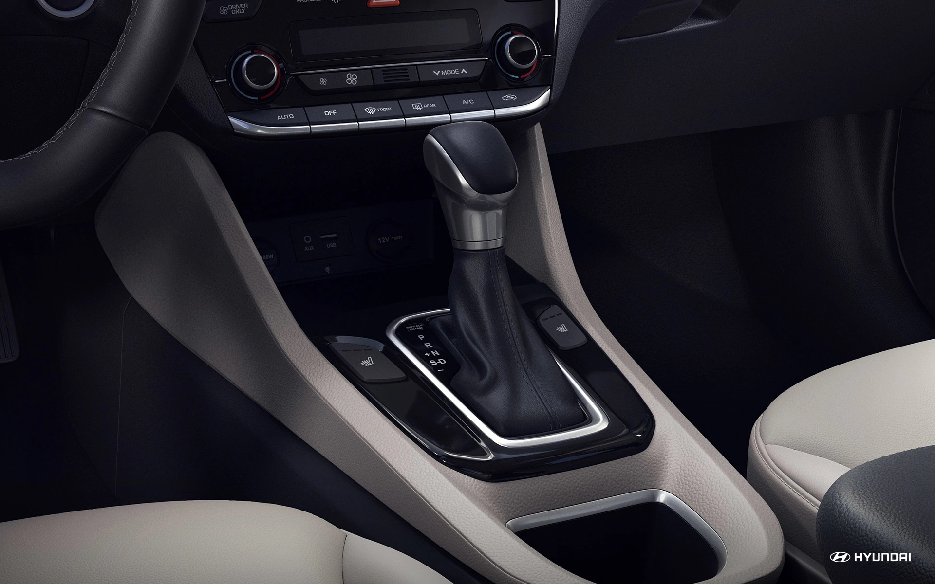 2019 Ioniq Hybrid Shift Knob
