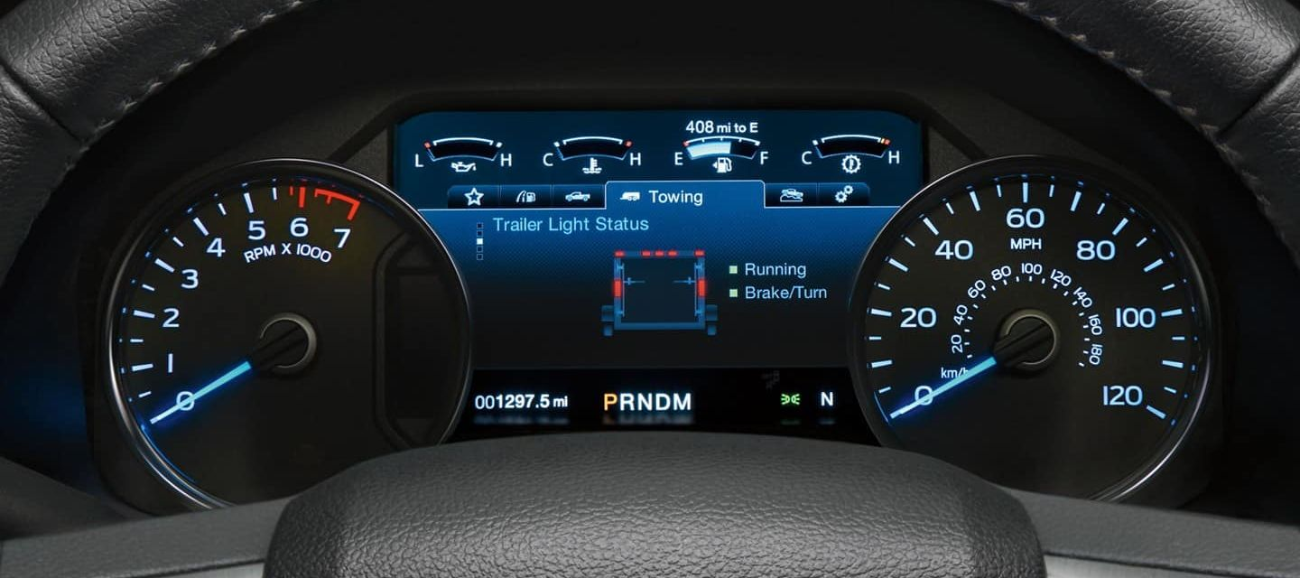 Infotainment Cluster on the 2019 Ford F-150