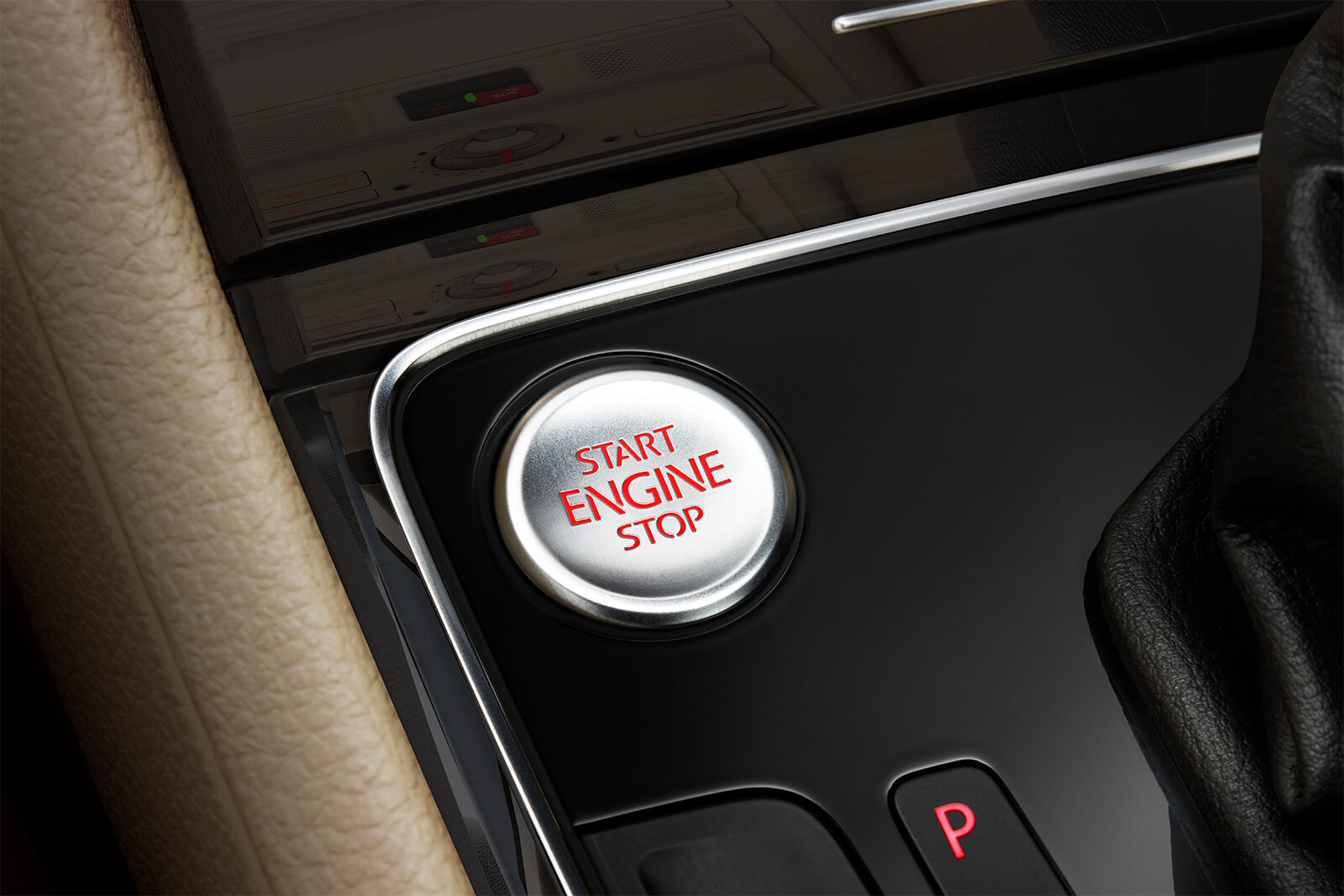 Push Button Start in the 2019 Passat