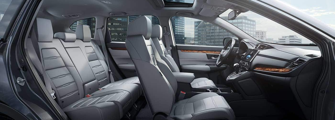 The Spacious Interior of the CR-V