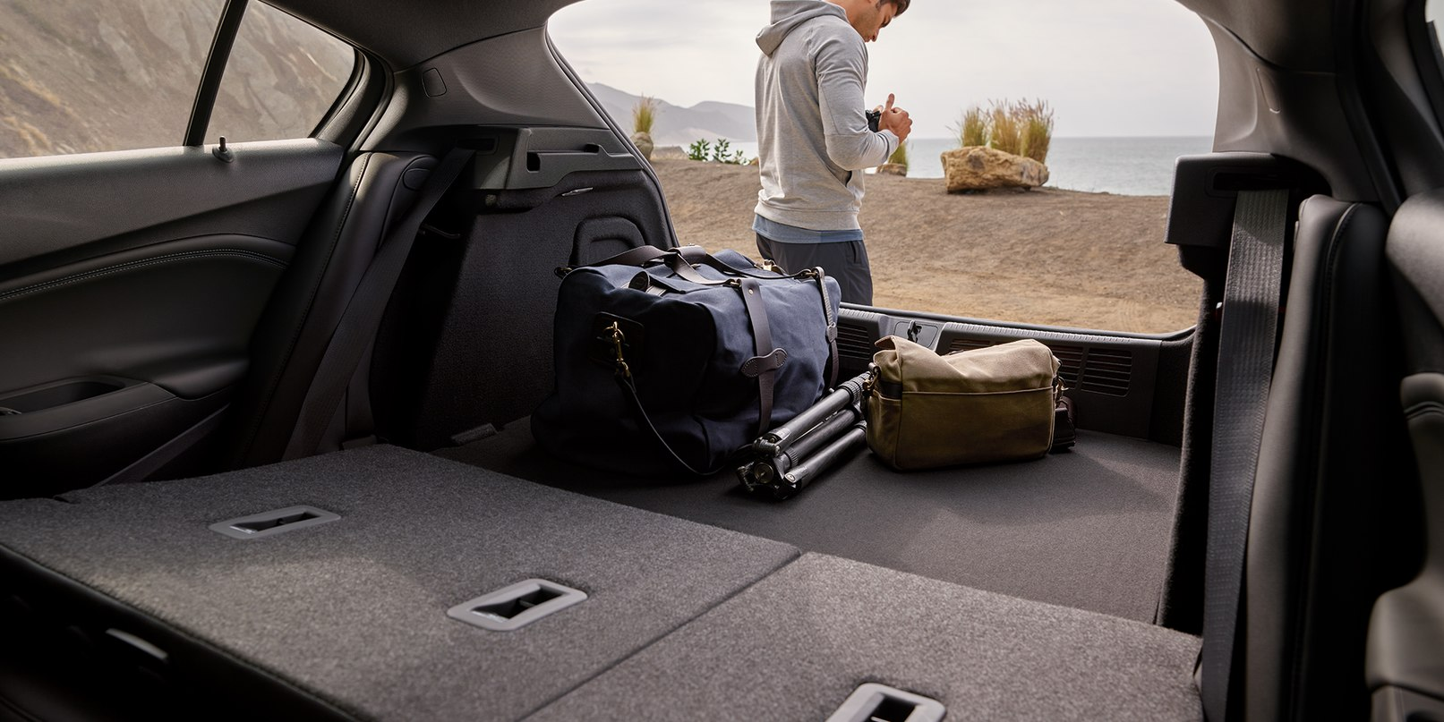 There's Plenty of Space for Your Gear in the Cruze!