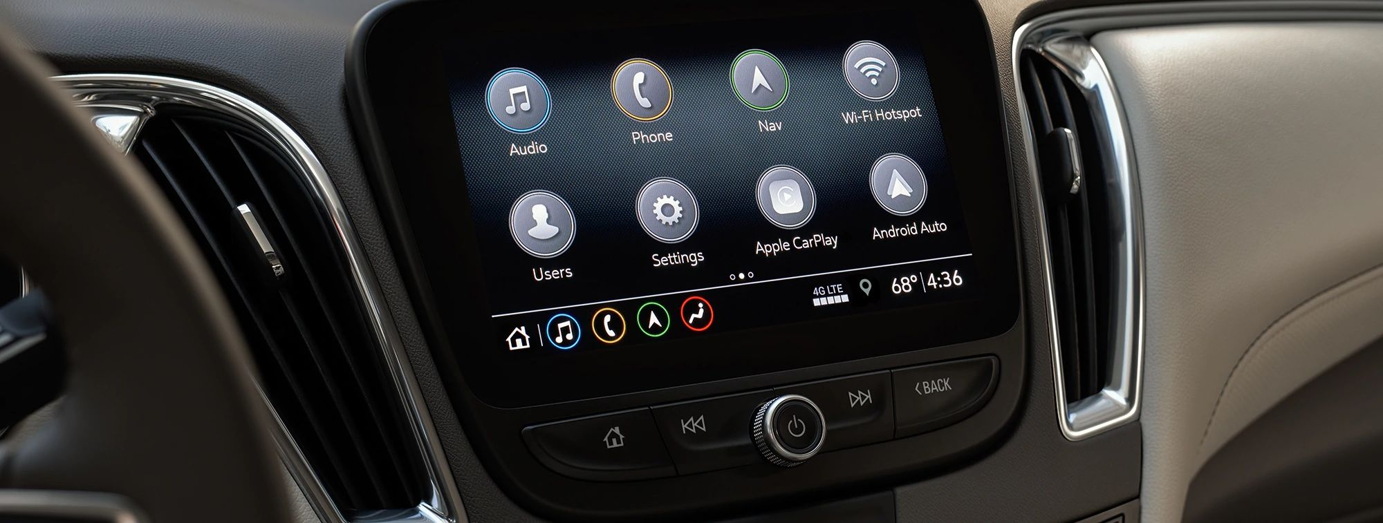 2019 Chevrolet Malibu Touchscreen