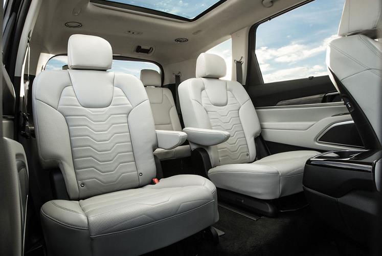 Déjate seducir por el  interior del Kia Telluride 2020 de alta gama con tiene materiales Premium