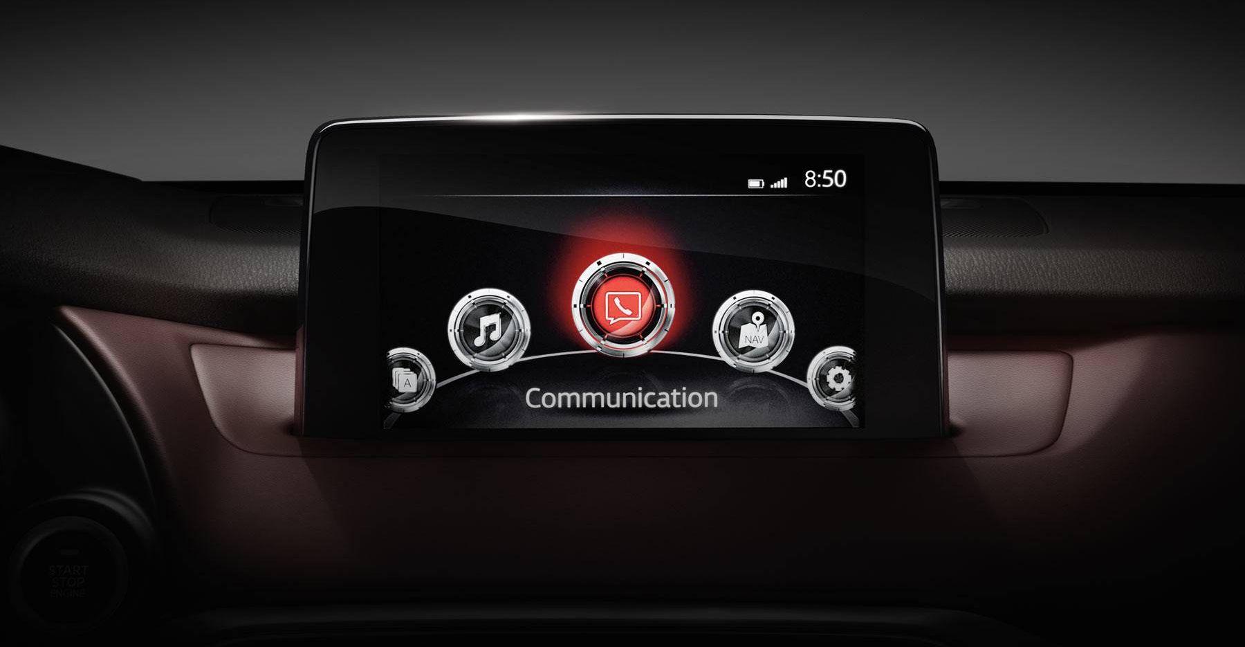 Mazda CX-9 Infotainment System
